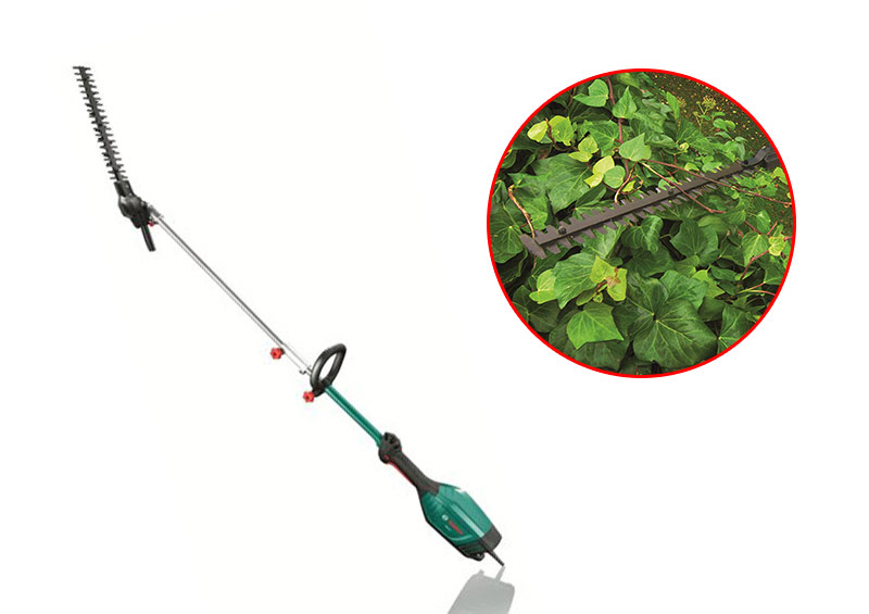 Bosch Multi-Tool with Pole Hedge Cutter Attachment