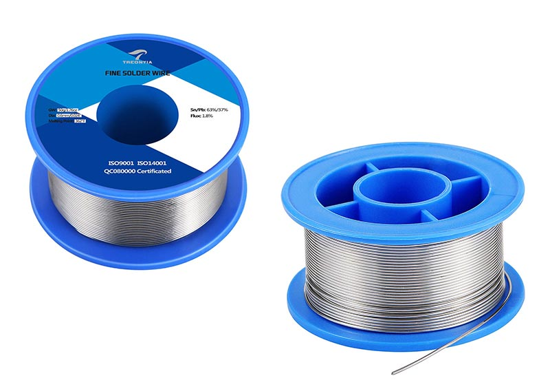 63-37 Tin Lead TREONYIA Rosin Core Solder Wire