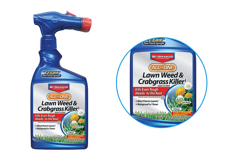 Bayer Advanced All in One Lawn Weed & Crabgrass Killer