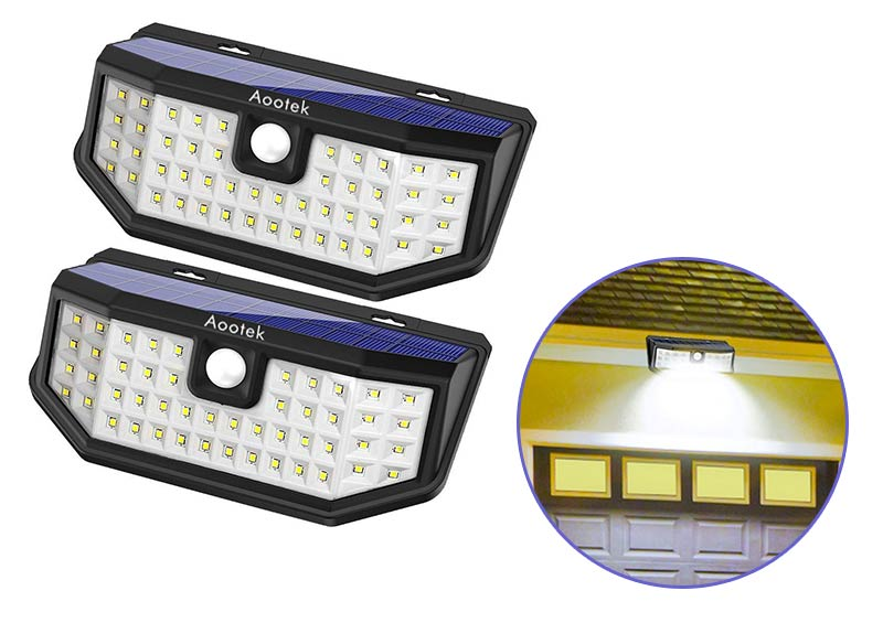 Aootek New Upgraded Solar Lights