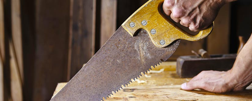 What does sharpen the saw mean
