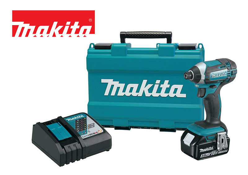 Makita XDT111 Lithium-Ion Cordless Impact Driver Kit