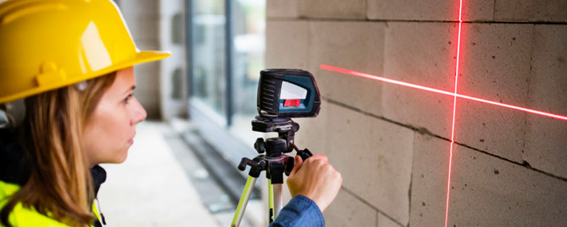 Find out how to use a laser level for your projects