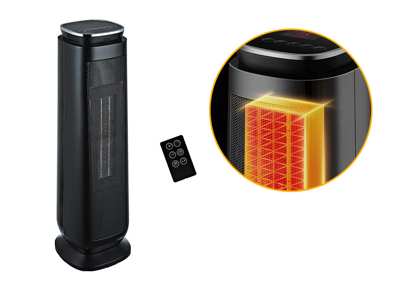 Aikoper Portable Ceramic Tower Space Heater