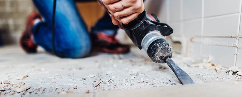 Encapsulation and Removal of Black Mastic
