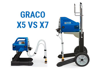 A Detailed Review of the Graco Magnum X5 vs. X7 Airless Paint Sprayers